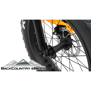 BackCountry eBikes Stalker Foldable Fat Tire Hunting Electric Bike Kenda Tires