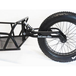 BackCountry eBikes Hunting Cargo Trailer Rear Shock