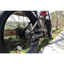 Civi Bikes Cheetah - The Cafe Racer Fat Tire Cruiser Electric Bike 750 Watt Brushless Electric Motor