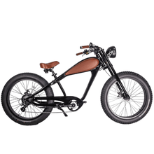 Civi Bikes Cheetah - The Cafe Racer Fat Tire Cruiser Electric Bike 750 Watt Brushless Electric Motor Bronze