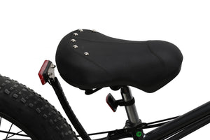 California Bicycle Factory Eagle Electric Fat Tire Beach Cruiser Bicycle Saddle