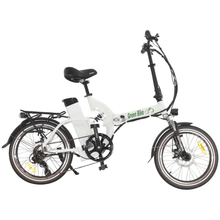 Green Bike USA GB500 Foldable Cruiser Electric Bike White