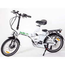 Green Bike USA GB500 Foldable Cruiser Electric Bike Kickstand