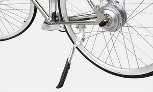 California Bicycle Factory Retro S Vintage Cruiser Electric Bike Kickstand