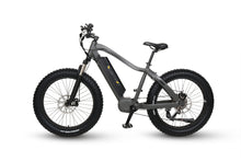 QuietKat Ambush Fat Tire Hunting Electric Mountain Bike 750 Watt Mid Drive Electric Motor Charcoal