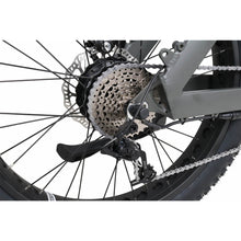 QuietKat Ranger Fat Tire Hunting Electric Mountain Bike 750 Watt Rear Hub Drive Motor Charcoal Derailleur