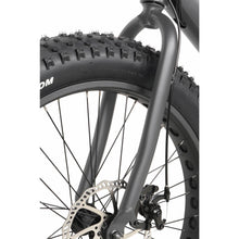 QuietKat Rover Fat Tire Hunting Electric Mountain Bike 750 Watt Hub Drive Electric Motor Front Fork