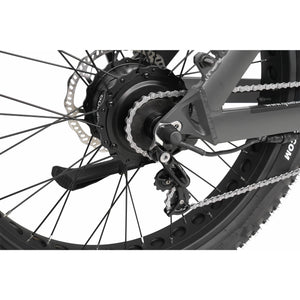 QuietKat Rover Fat Tire Hunting Electric Mountain Bike 750 Watt Hub Drive Electric Motor Derailleur