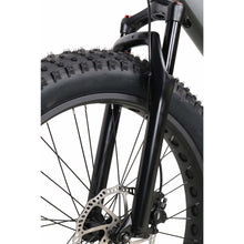 QuietKat Predator Fat Tire Hunting Electric Mountain Bike 1000 Watt Mid Drive Electric Motor Charcoal Front Forks