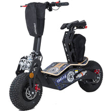 MotoTec Mad 1600w 48v Electric Scooter Blue