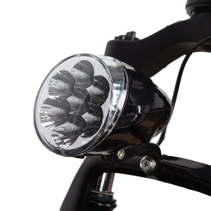"Nakto Discovery 20"" Fat Tire Electric Bike Head Light"