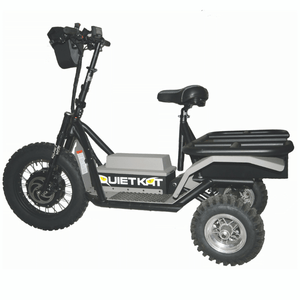 QuietKat Prowler Fat Tire Hunting Electric All Terrain Trike 6000 Watt Electric Motor
