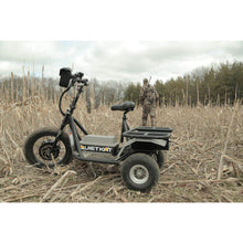 QuietKat Prowler Fat Tire Hunting Electric All Terrain Trike 6000 Watt Electric Motor Field