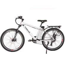 X-Treme Trail Maker Elite 24 Volt Electric Mountain Bike 300 Watt Rear Hub Motor White