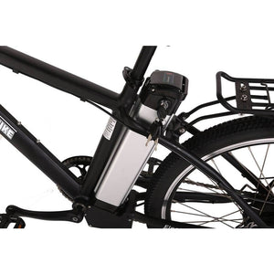 X-Treme Trail Maker Elite 24 Volt Electric Mountain Bike 300 Watt Rear Hub Motor Battery Packs