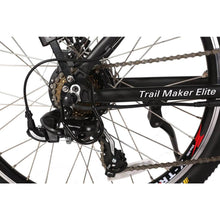 X-Treme Trail Maker Elite 24 Volt Electric Mountain Bike 300 Watt Rear Hub Motor Derailleur