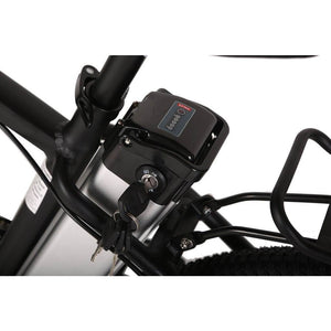 X-Treme Trail Maker Elite 24 Volt Electric Mountain Bike 300 Watt Rear Hub Motor Battery Cells