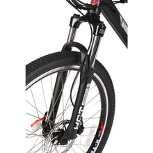 X-Treme Trail Maker Elite 24 Volt Electric Mountain Bike 300 Watt Rear Hub Motor Suntour Front Forks