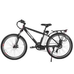 X-Treme Trail Maker Elite 24 Volt Electric Mountain Bike 300 Watt Rear Hub Motor Black