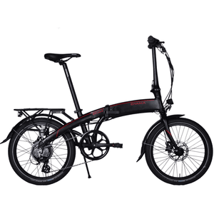 Oyama CX E8D Series II Foldable Electric Bike Black 350 Watt Rear Hub Electric Motor