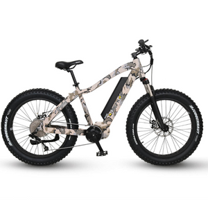 QuietKat Warrior 1000W Fat Tire Electric Mountain Bike Camo