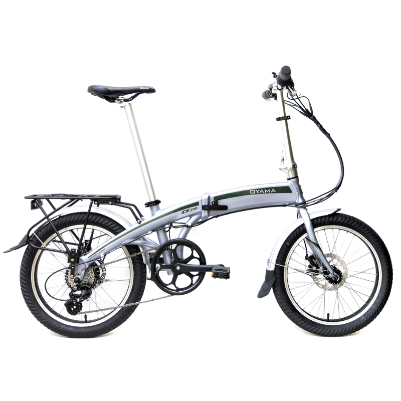 Oyama CX E8D Foldable Electric Bike