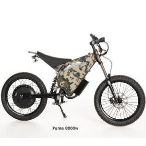 BackCountry eBikes Puma Fat Tire Hunting Electric Mountain Bike