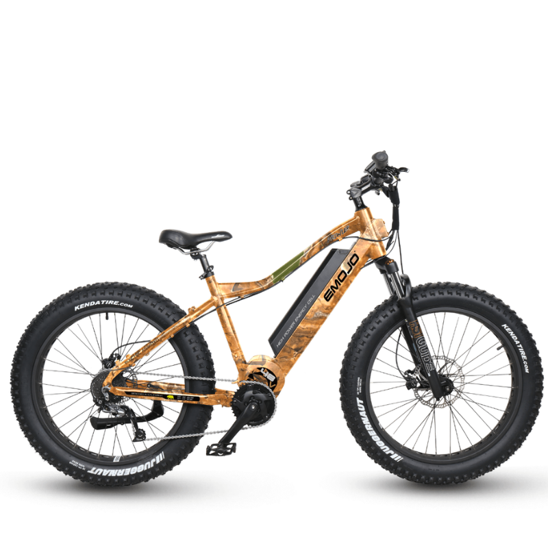 Emojo Prowler Fat Tire Electric Mountain Bike Camo