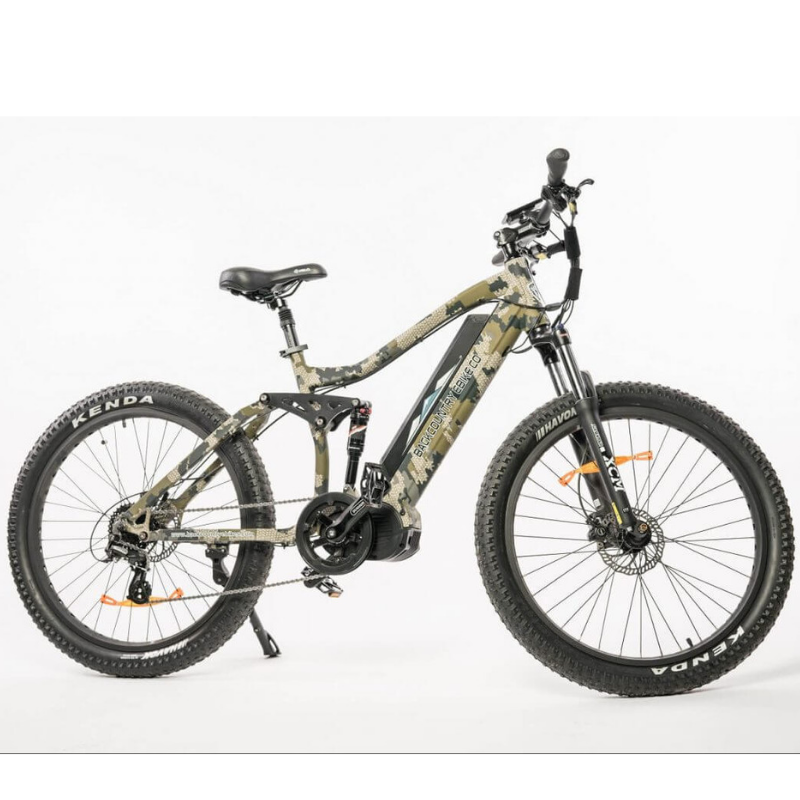 BackCountry eBikes Storm Full Suspension Hunting Electric Mountain Bike
