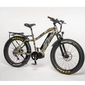 Backcountry Ebikes Mule Fat Tire Hunting Electric Mountain Bike