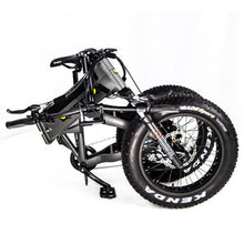 QuietKat Bandit Foldable Hunting Fat Tire Electric Bike 750 Watt Hub Drive Electric Motor Folded