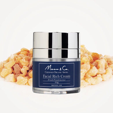 [Marvo & Co] Facial Rich Cream Fresh Frankincense 30g