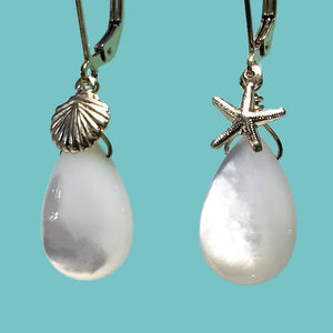 [SURF JEWELLERY] White Shell x Gold Shell & Sea Star (1-3-A)