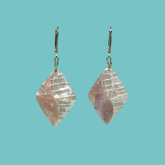 [SURF JEWELLERY] Crush Shell x Pink & White (1-7-B)