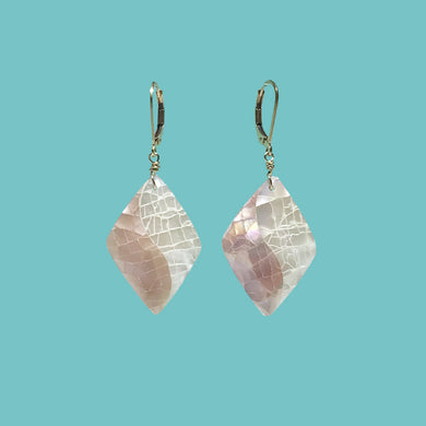 [SURF JEWELLERY] Crush Shell x Pink & White (1-7-C)