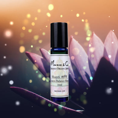 [Marvo & Co] Shanti Roll On 10mL (Tranquility Blend - Chakra Balance Roll-on)