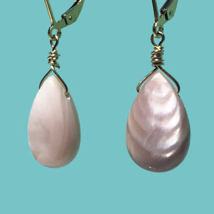 [SURF JEWELLERY] Pink Shell Drop (2-2-B)