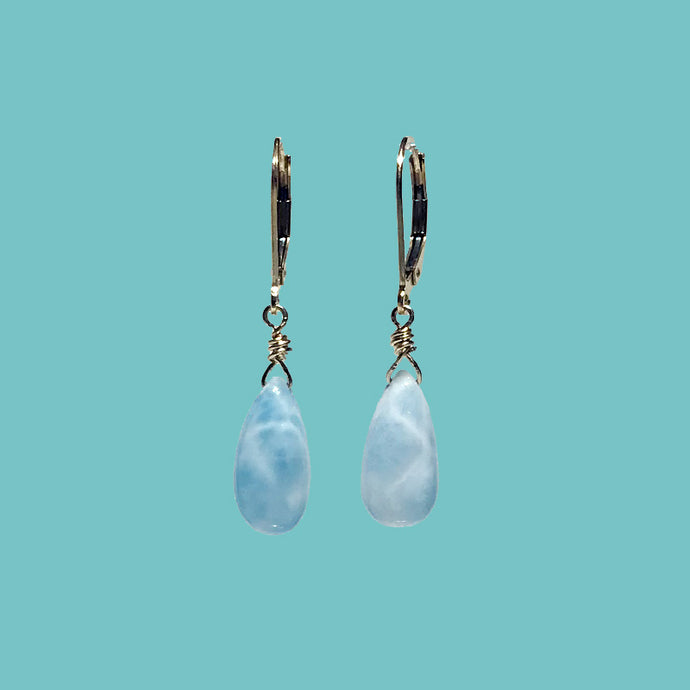 [SURF JEWELLERY] Larimar Drop (3-3-C)