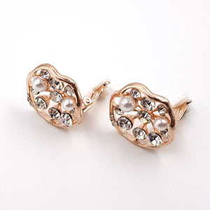 Arete Clip Rose Gold
