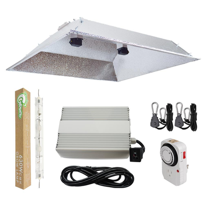 630-Watt DE CMH Ceramic Metal Halide Grow Light System with Double Ended XXL Open Hood Reflector