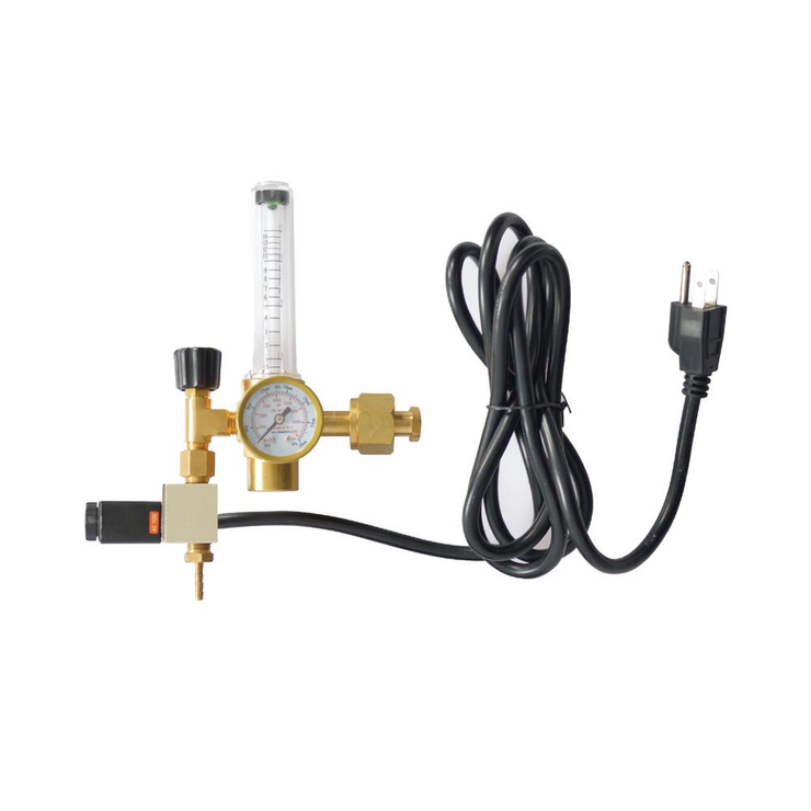 Co2 Regulator Emitter System with Solenoid Valve