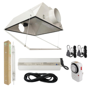 1000-Watt Double Ended HPS 120/240-Volt Grow Light System with DE Large Air Cooled Grow Light Reflector