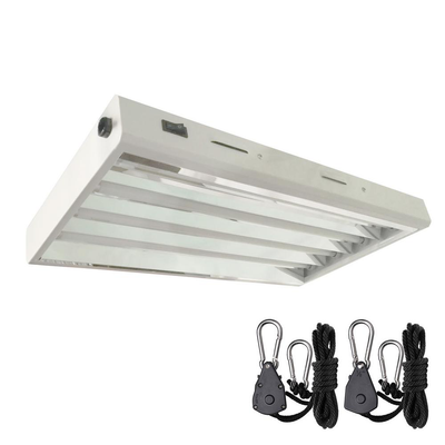 2 ft. 4-Bulb 96-Watt T5 High Output Fluorescent Grow Light Fixture