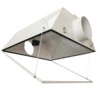 630-Watt DE CMH Ceramic Metal Halide Grow Light System with Double Ended Large Air Cooled Reflector
