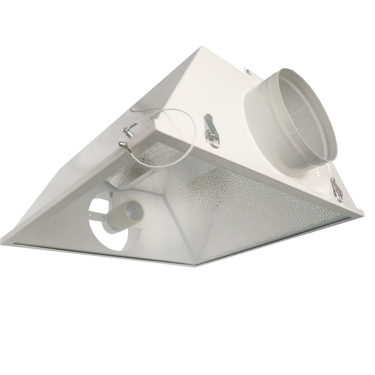 600-Watt HPS/MH Grow Light System with 6 Large Air Cooled Reflector