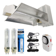 630-Watt Ceramic Metal Halide CMH Dual Lamp Open Style Grow Light System with Philips Full Spectrum 315W 3100K Lamp
