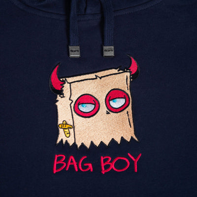 Bag Boy Hoodie Small / Navy