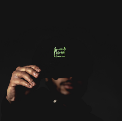 Bag Boy Glow In The Dark Dad Hat