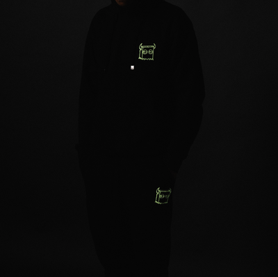 Bag Boy Glow In The Dark Sweatsuit