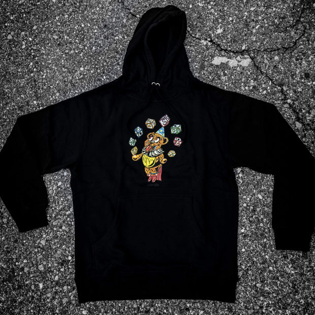 Grateful Doom Bear Hoodie